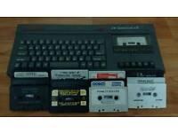 Spectrum ZX +2 & games (untested)