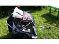 Bike trailer double seat Bellini