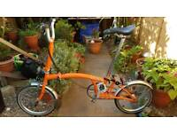 Brompton M3L Folding Bike (not Cannondale  Cube giant Specialized Boardman)