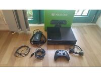 XBOX ONE - boxed with accessories.