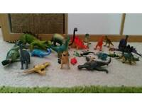 Bundle of dinosaurs - £5 for all of them. Collection Llanedeyrn