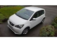 Seat Mii SE, 1.0 12v 3dr, 11 months MOT, low mileage, 1 previous owner