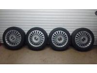 Seat Leon Mk 1 Alloy wheels with all Season tyres (Kleber Quadraxer ) in Banbury