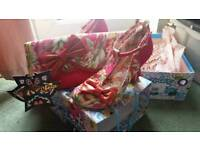 Irregular choice size 5/38 pink bloxy with matching bag