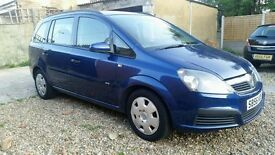 VAUXHALL ZAFIRA LIFE 2006 1.6 HPI CLEAR GOOD CONDITION`