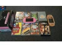 Pink psp and games