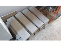 concrete coping stones-7- twice weathered-
