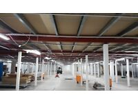 Mezzanine Flooring for Sale 50M x 25M or part thereof. FREE DELIVERY
