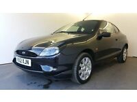 FORD PUMA 1.4 16V   BLACK   1 YEAR MOT   SERVICE HISTORY   3 FORMER KEEPERS   CD CHANGER   HPI CLEAR