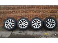 2013 RANGE ROVER WHEELS AND TYRES