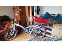 Retro Style Folding Bike