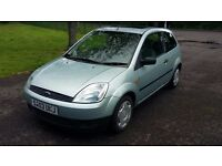 Ford Fiesta Finesse 1242cc 03 Plate 88000 Miles **MOT AUGUST 2017**