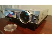 Panasonic PT-AE200E Home Theatre Projector - Great Condition - with VGA to HDMI converter