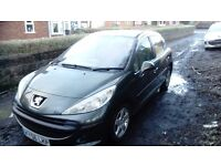 Peugeot 207 for sale or swaps