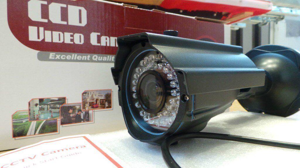 CCTV WATERPROOF METAL CAMERA Internal / External & Night Vision - BRAND NEW