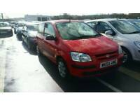 HYUNDAI GETZ 1.1 PETROL , , 1 YEAR MOT , , LOW MILEAGE , , GOOD RUNNER , , CHEAP CAR