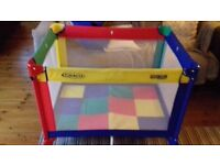 Graco travel cot or play pen - good condition, little use! Bargain at £30, not to be missed!