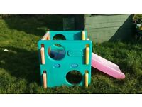Little tikes slide cube