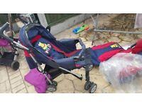 Pushchair Stroller with Car Seat Disney Winnie Pooh Pram