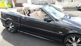 BMW 318ci convertible cheap for what you get 103k