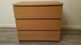 Chest of drawers - Ikea (Malm) - Good conditions