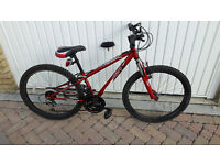 Unisex Mountain bike with front suspensions £50
