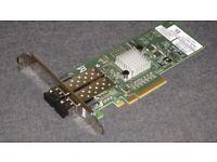 Dell Brocade 825 Dual Port 8Gbps Fibre Channel Host Bus Adapter HBA LP Card