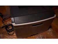 Lexmark E260D Laser printer with toner