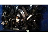 Wholesale (26PCS) of adapters/chargers with their power cords (READ)