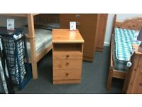 Bedside cabinet in beech - British Heart Foundation