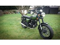 2015 Herald 2015 Classic Motorcycle Green