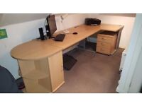Office Desks and Filing Cabinet ideal for Home Working