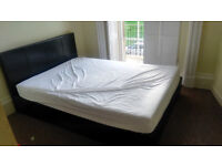 Double Ottoman Bed with matress and storage. Collection only