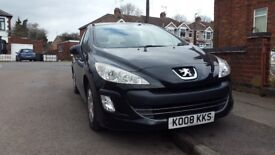 PEUGEOT 308 1.6 VTi , 5d , Engine power: 120bhp , BALCK