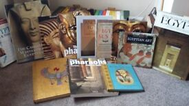 EGYPTOLOGY , FACT and FICTION BOOKS