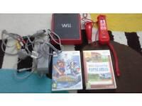 Nintendo Wii Mini Red
