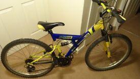 Emmelle GTX2000 full suspension bike