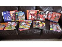 37 FOOTBALL THEMED ANNUALS/BOOKS VERY GOOD CONDITION