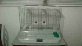 No-mess bird cage