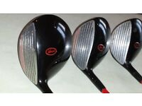 full set of howson gold club plus 1 3 5 wood / driver