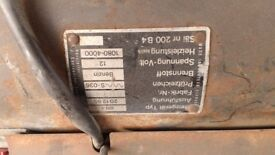 VW T2 Petrol Eberspacher BN4 heater