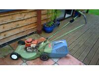 Hayter Lawn Mower 50cm deck with briggs and stratton engine old