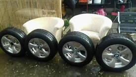 Bmw wheels 16 ich very good condtion