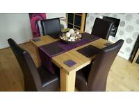 Table & 4 chairs