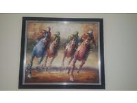 Kentucky Derby Oil Painting
