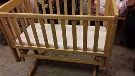 Mammas and Papas crib swing