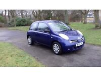 2005 NISSAN MICRA,LONG MOT,LOW MILES,£995