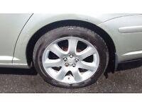 "Toyota Avensis T4 17"" alloy wheels £225"