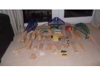 Brio Train track and accessories