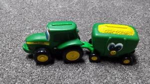 John Deere Johnny Tractor and Wally Wagon Toys/Books